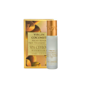Gesichtscreme für die Nacht mit Koksnussöl - Luxus Ayurveda
